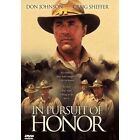 In Pursuit of Honor (DVD, 2001)