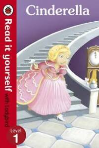 EARLY-READER-Read-it-Yourself-Ladybird-Level-1-CINDERELLA-NEW