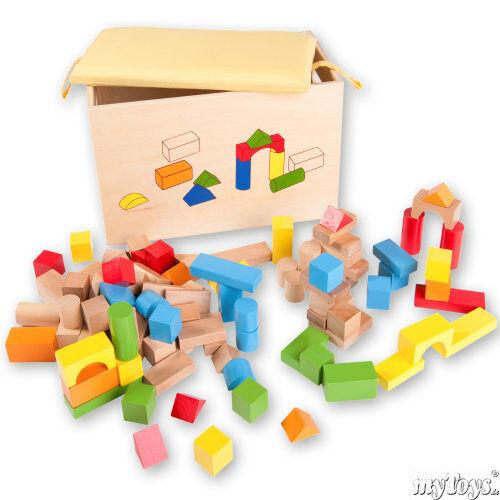 Das sagt das Spiel mit Bauklötzen über den Entwicklungsstand Ihres Kindes