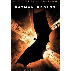 Batman Begins (DVD, 2005, Widescreen)