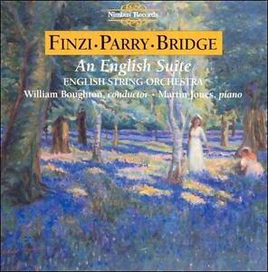 DD198 An English Suite: Music by Finzi, Parry and Bridge (1993) String Orchestra
