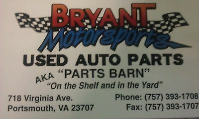 Bryant Motorsport Used Auto Parts