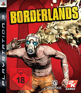Sony PS3 Borderlands 1 Pappschuber Edition Kult Comic Action Shooter RPG UNCUT