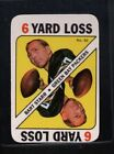 Topps Bart Starr Lot Football Trading Cards