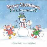 WOLFRAM HAENEL-MERRY CHRISTMAS MR SNOWMAN  BOOK NEW