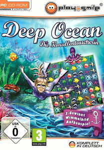 Deep Ocean - Die Korallentaucherin (PC, 2011, DVD-Box) - <span itemprop=availableAtOrFrom>Leibnitz, Österreich</span> - Deep Ocean - Die Korallentaucherin (PC, 2011, DVD-Box) - Leibnitz, Österreich