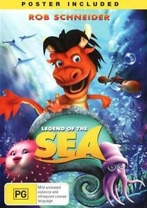 Legend Of The Sea (DVD, 2013) New & Sealed
