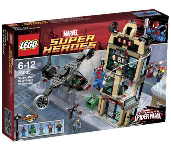 LEGO Marvel Super Heroes Spider-Man Daily Bugle Showdown (76005 ...