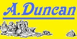 A.Duncan,vintage and collectables