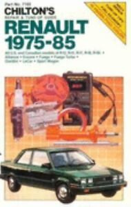 Renault-1975-85-by-Chilton-Automotive-Editorial-Staff-1985-Paperback