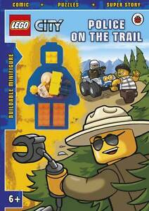 LEGO CITY: Police on the Trail Activity Book with Minifigure by Penguin Books...