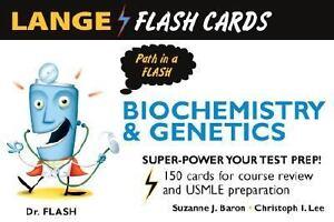 Lange Biochemistry and Genetics Flash Cards (LANGE FlashCards), Lee, Christopher