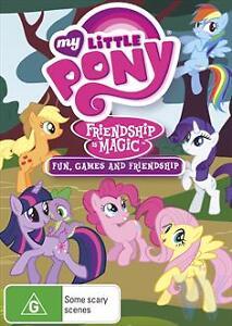 B26 My Little Pony Friendship Is Magic - Fun, Games And Friendship : Vol 4 (DVD)
