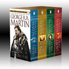 George R. R. Martin's a Game of Thrones Set : A Game of Thrones, a Clash of Kings, a Storm of Swords, and a Feast for Crows by George...