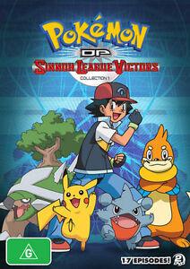 Pokemon - Diamond And Pearl Sinnoh League Victors : Collection 1 (DVD, 2011,...