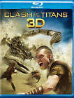 Clash of the Titans (Blu-ray Disc, 2010, 2-Disc Set, 3D)
