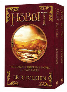 The-Hobbit-Part-1-and-2-Slipcase-Tolkien-J-R-R-Good-Book