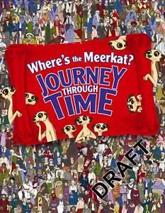 Where's The Meerkat? Journey Through Time, Moran, Paul, New Book