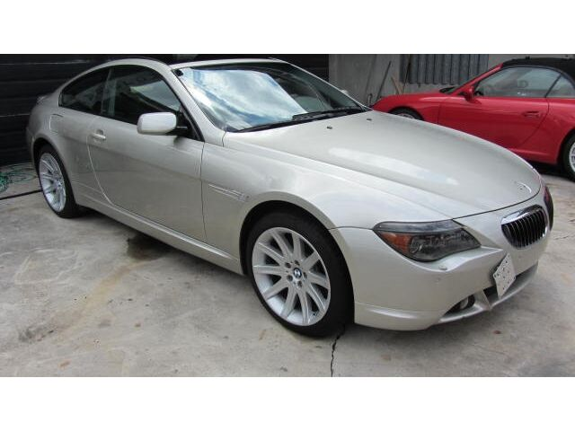Salvage Flood Rebuildable 645 Ci Coupe - Used Bmw 645ci for sale in