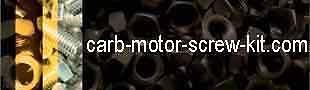 CARB-MOTOR-SCREW-KIT