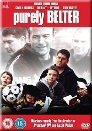 PURELY BELTER (Charlie Hardwick) - DVD - REGION 2 UK