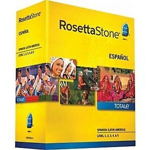 Original Rosetta Stone - Learn Spanish (Spain) (Level 1, 2, 3, 4 & 5 Set) Software