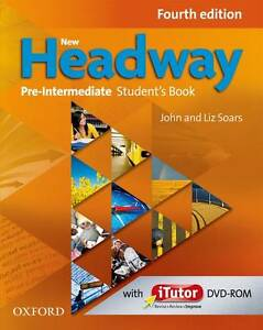 NEW HEADWAY Pre-Intermediate Fourth Edition Student's Book & iTutor DVD Pack