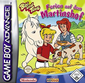 Bibi und Tina Ferien auf dem Martinshof   - Nintendo GameBoy Advance Spiel - NEU