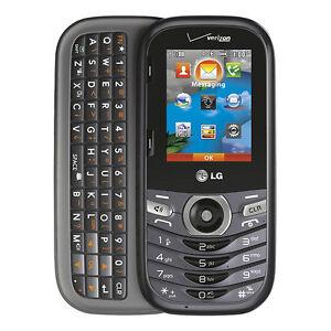 lg cosmos 3 vn251s black verizon cellular phone ebay rh ebay com Verizon LG Revere VN150 Verizon LG Revere VN150