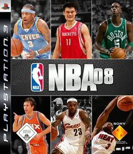 NBA 08 für PS3 *TOP* (mit OVP)