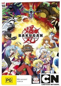 Bakugan - The Final Brawl  Vol 10 (DVD, 2013, 2-Disc Set)-REGION 4-Free postage