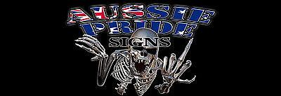 Aussie Pride Signs