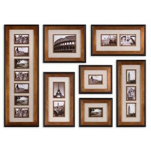 how to frame and display collages