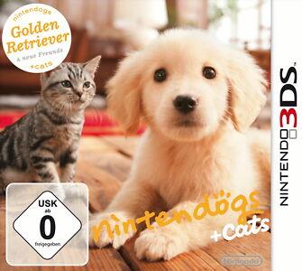 Nintendogs + Cats: Golden Retriever & neue Freunde für Nintendo 3DS