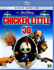 Chicken Little (Blu-ray/DVD, 2011, 3-Disc Set, 3D) (Blu-ray/DVD, 2011)
