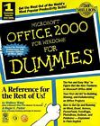 Microsoft Office 2000 for Windows for Dummies® by Wallace Wang and Roger C. Parker (1999, Paperback) : Roger C. Parker, Wallace Wang ...
