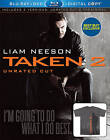 Taken 2 (Blu-ray/DVD, 2013, Unrated/Theatrical; Includes Digital Copy)