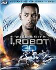 I, Robot (Blu-ray/DVD, 2012, 3-Disc Set, 2D/3D)
