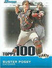 Rookie Buster Posey Original Baseball Cards