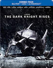 The Dark Knight Rises (Blu-ray/DVD, 2012, UltraViolet; Steelbook)