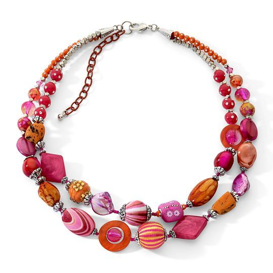 How to Wear a Chunky Necklace