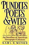Pundits, Poets and Wits, , 0195060636
