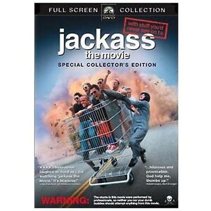 Jackass: The Movie (DVD, 2006, Unrated S...