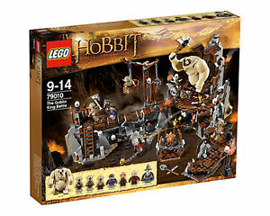 LEGO 79010 THE HOBBIT AN UNEXPECTED JOURNEY GOBLIN KING BATTLE  NEW SEALED SET