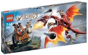 7017 LEGO VIKINGS CATAPUT CATAPULT VERSUS THE NIDHOGGDRAGON