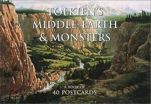 Tolkiens-Middle-Earth-and-Monsters-Postcard-Book-A-Book-of-40-Postcards