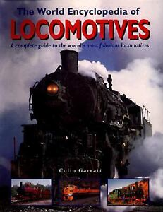 World-Encyclopedia-of-Locomotives-by-Colin-Garratt-HC-DJ-1997