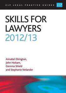 Skills for Lawyers 2013/2014 (CLP Legal Practice Guides),Elkington, Annabel,Very