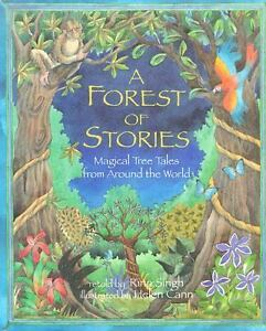 A Forest of Stories: Magical Tree Tales from Around the World-ExLibrary