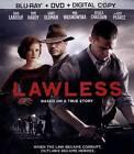 Lawless (Blu-ray/DVD, 2012, 2-Disc Set, Includes Digital Copy)